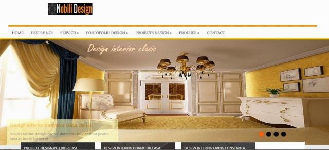 Portofoliu proiecte design interior stil clasic - Design interior case clasice