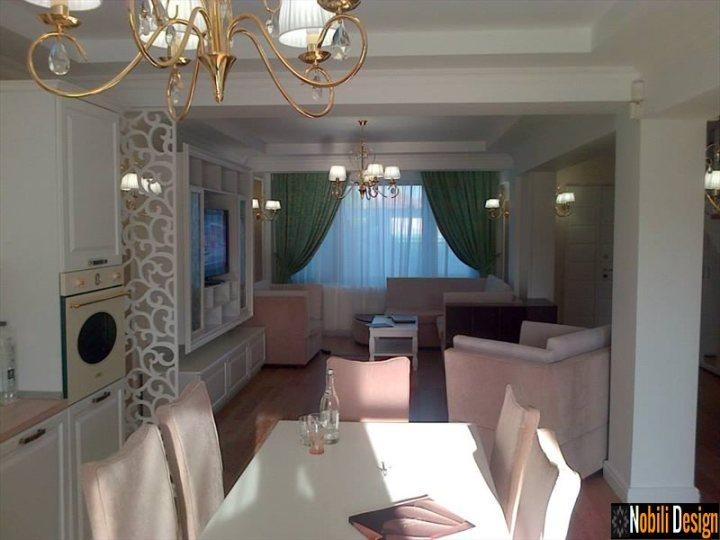 Design interior living clasic de lux casa Bucuresti - Amenajari Interioare & Design Interior-Arhitect