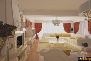 Design interior - living - clasic - de lux - casa - Bucuresti