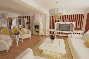 Amenajari si decoratiuni interioare cu materiale din lemn - Mobila clasica italiana