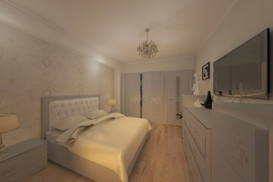 Design interior dormitor apartament modern - Amenajari interioare case Constanta