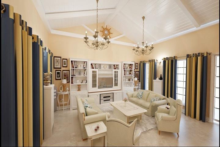 Servicii design interior case apartamente - Amenajare casa clasica Constanta| Design - interior - living - Mamaia - Constanta.