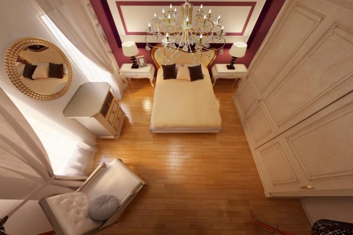 design interior dormitor classic de lux