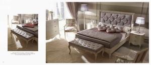 Mobila clasica de lux paturi dormitor - Mobila italiana Constanta.