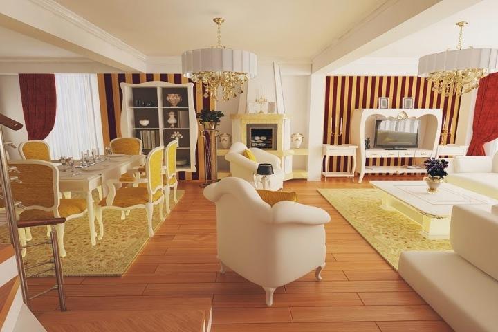 Nobili Design | Design interior case moderne - Design interior case apartament stil clasic.