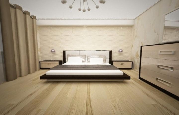 Design interior dormitor casa Constanta - Amenajari interioare case moderne.