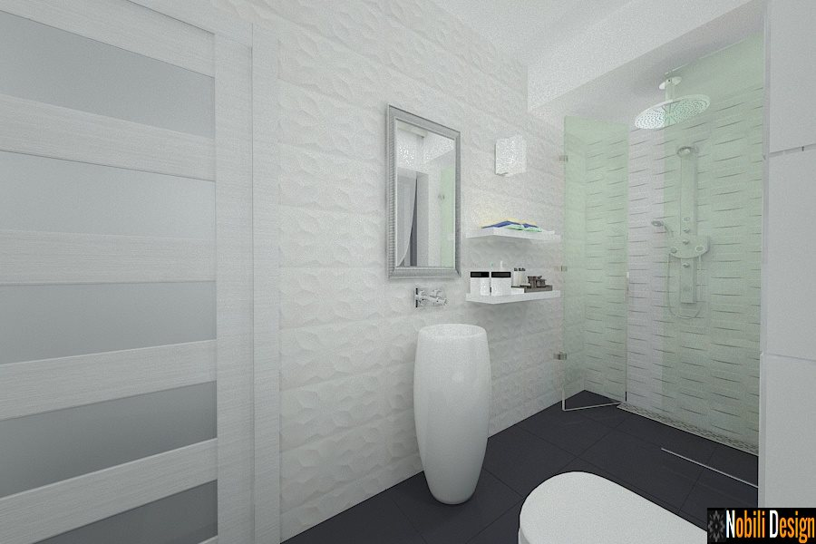 Design interior casa moderna cu etaj in Buzau | Firma arhitectura amenajari interioare Buzau